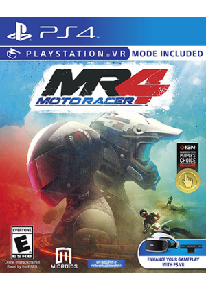 Motoracer 4 MR4/PS4 (Compatible PSVR)