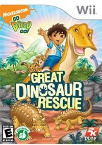 Go, Diego, Go! Great Dinosaur Rescue / Wii