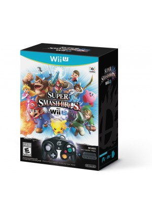 Super Smash Bros Bundle (Manette & Adaptateur)/Wii U
