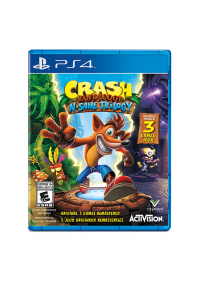 Crash Bandicoot N-Sane (Insane) Trilogy/PS4