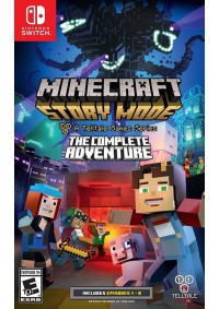 Minecraft Story Mode The Complete Adventure/Switch