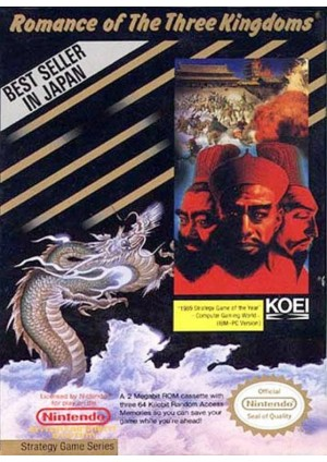 Romance Of The Three Kingdoms/NES