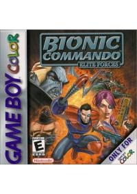 Bionic Commando Elite Forces / Game Boy Color