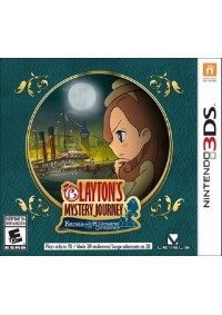 Layton's Mystery Journey Katrielle and the Millionaires' Conspiracy / 3DS