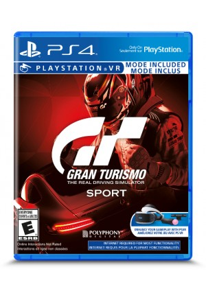 Gran Turismo Sport (Compatible PSVR) / PS4