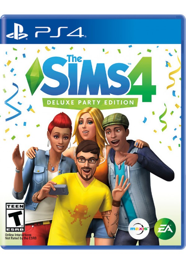 The Sims 4 Deluxe Party Edition/PS4
