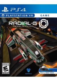 Radial-G Racing Evolved (Compatible PSVR) / PS4
