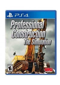 Professionnal Construction The Simulation/PS4