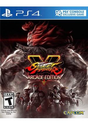 Street Fighter V Arcade Edition/PS4