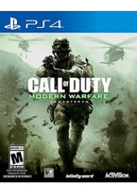 Call of Duty Modern Warfare Remastered/PS4