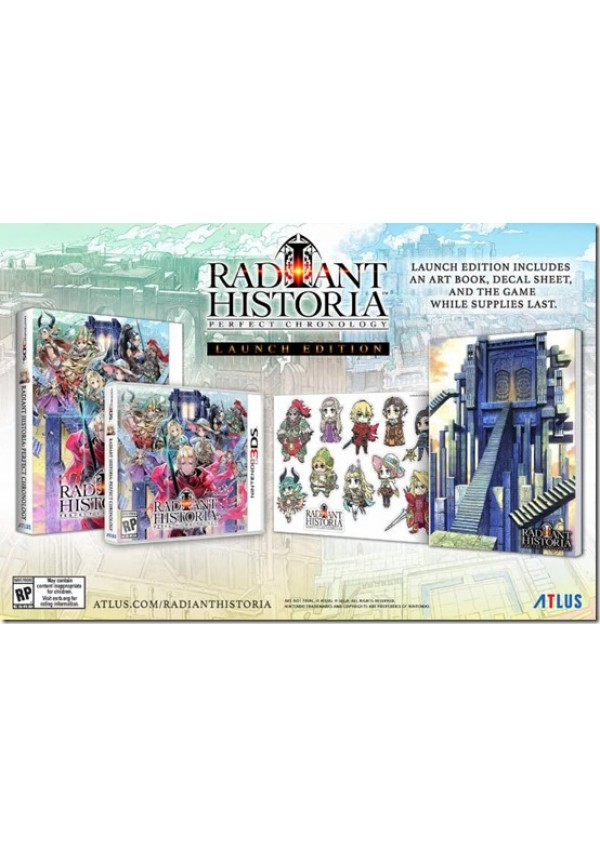 Radiant Historia Perfect Chronology/3DS