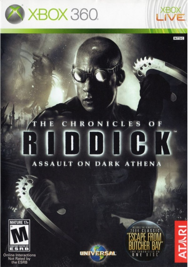 The Chronicles of Riddick: Assault on Dark Athena / Xbox 360