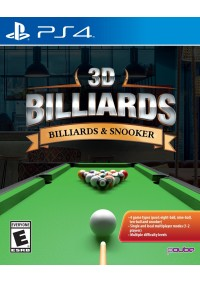 3D Billiards Billiards & Snooker/PS4