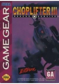 Choplifter III /Game Gear