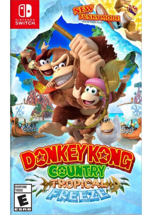 Donkey Kong Country Tropical Freeze/Switch