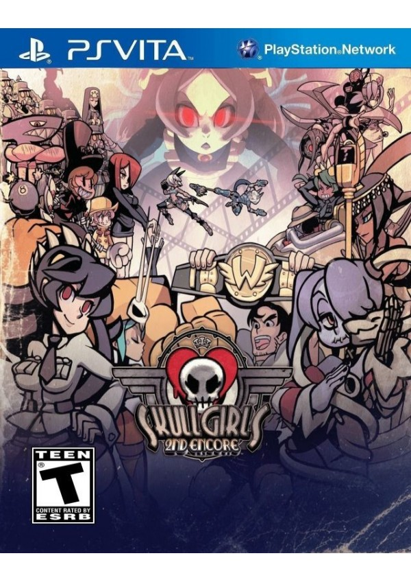 Skullgirls 2nd Encore/PS Vita