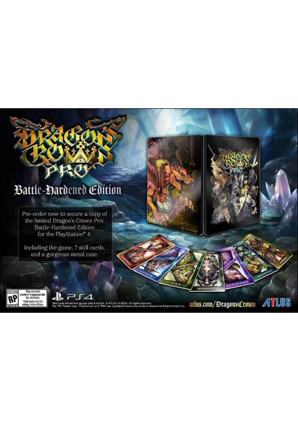 Dragon's Crown Pro Battle Hardened Edition/PS4