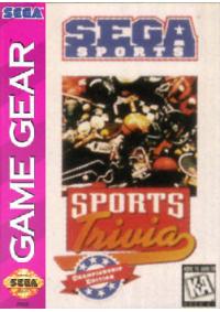 Sega Sports/Game Gear