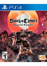 Black Clover Quartet Knights/PS4