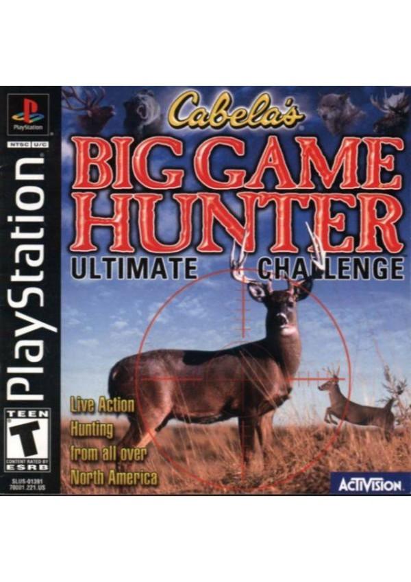 Cabela's Big Game Hunter/PS1