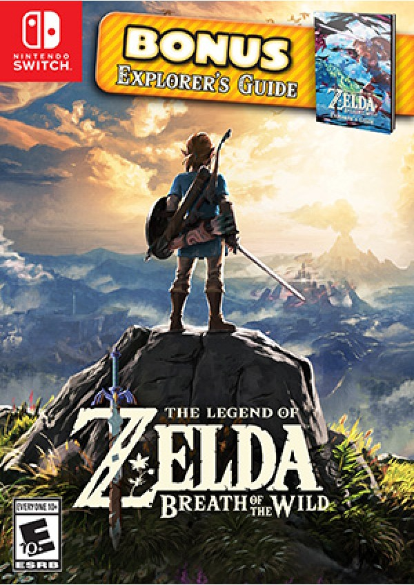 The Legend of Zelda Breath Of The Wild Starter Pack/Switch