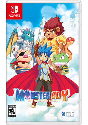 Monster Boy and The Cursed Kingdom/Switch
