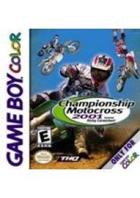 Championship Motocross 2001 Featuring Ricky Carmichael/Game Boy Color