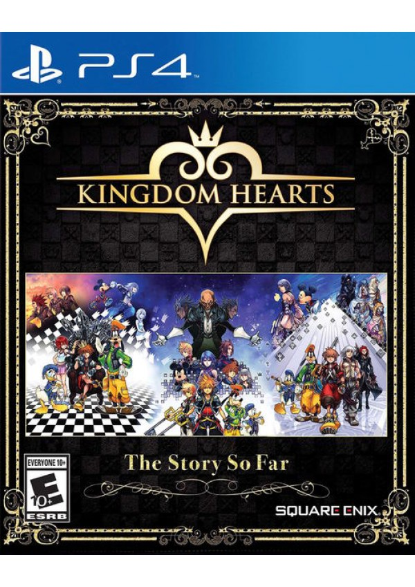 Kingdom Hearts The Story So Far/PS4