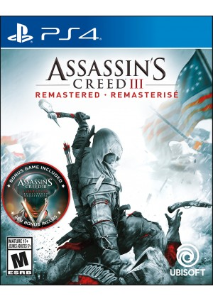 Assassin's Creed Remastered III/PS4