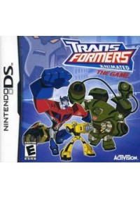 Transformers Animated The Game/DS