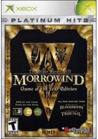 The Elder Scrolls III Morrowind Game Of The Year Edition/Xbox
