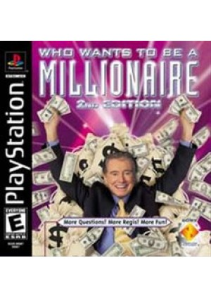 Who Wants To Be A Millionaire 2nd Edition/PS1