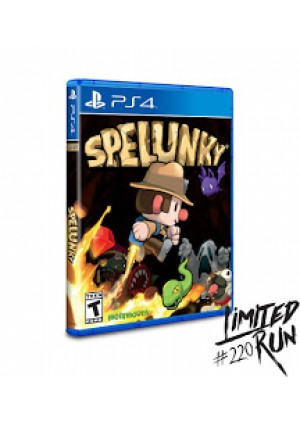 Spelunky Limited Run Games #220/PS4