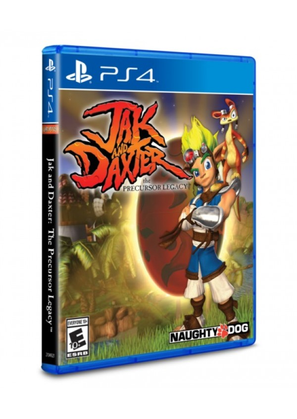 Jak And Daxter The Precursor Legacy Limited Run Games #184/PS4