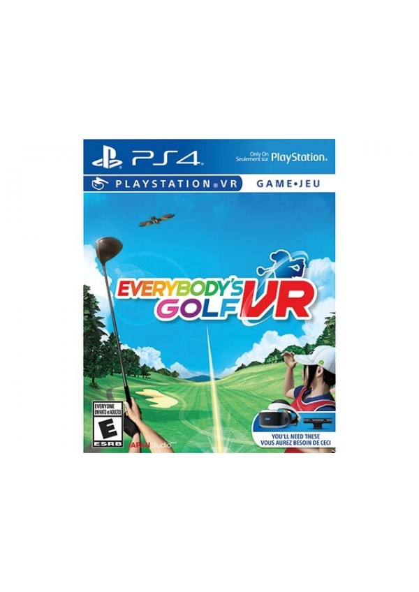Everybody's Golf VR/PSVR