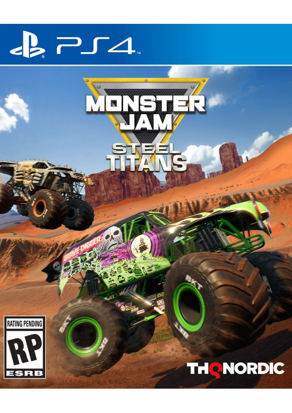 Monster Jam Steel Titans/PS4