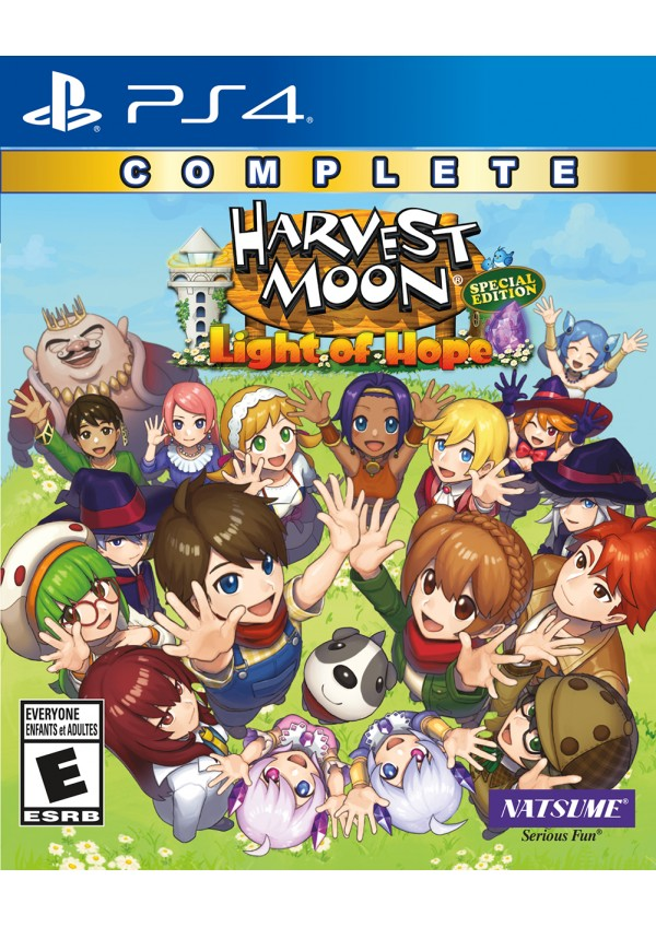 Harvest Moon Light of Hope Complete Edition/PS4