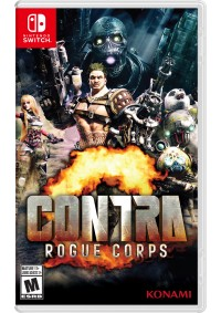 Contra Rogue Corps/Switch