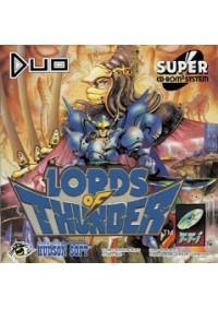Lords of Thunder /Turbo Grafx CD