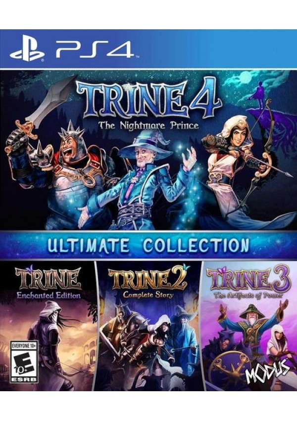 Trine 4 The Nightmare Prince - Ultimate Collection/PS4