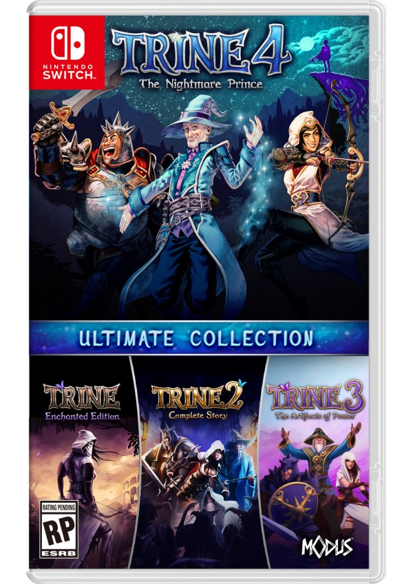 Trine 4 The Nightmare Prince - Ultimate Collection/Switch