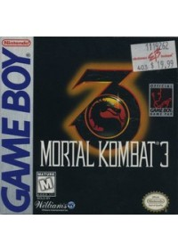 Mortal Kombat 3/Game Boy