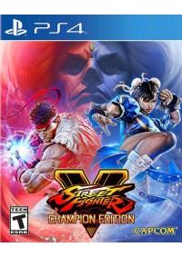 Street Fighter V Champion Edition/PS4