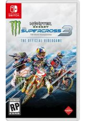 Monster Energy Supercross 3 The Official Videogame/Switch