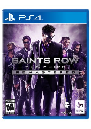 Saints Row The Third Remastered/PS4