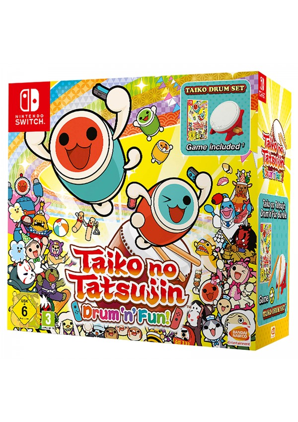 Taiko No Tatsujin Drum N Fun Avec Tambour (Version Européenne Multilingue) / Switch