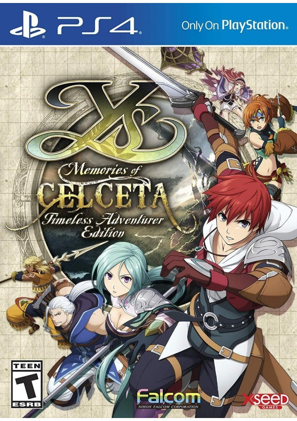 Ys Memories of Celceta Timeless Adventure Edition/PS4