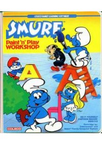 Smurf: Paint 'N' Play Workshop/Colecovision