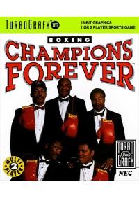 Champions Forever Boxing/Turbografx-16