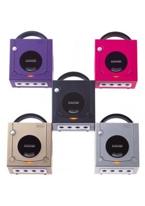 console gamecube avec 1 manette originale diff rentes couleurs. Black Bedroom Furniture Sets. Home Design Ideas